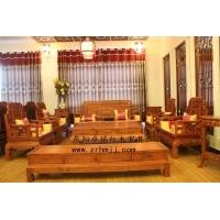 厂家直销东阳红木古典家具非洲花梨木六合同春沙发