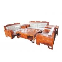 厂家直销东阳红木古典家具非洲花梨木大吉祥沙发