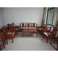 厂家直销东阳红木家具非洲花梨木大圈椅沙发供应商