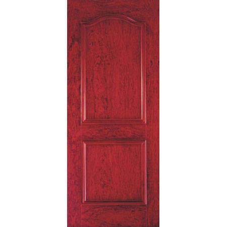 紅色木紋門裝修效果圖