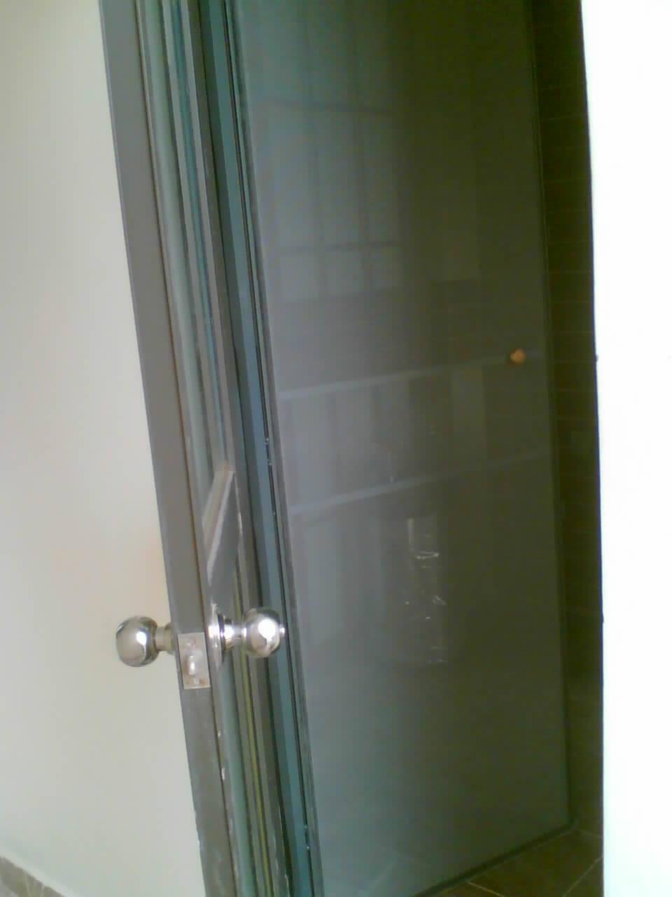 欧式平开纱窗纱门