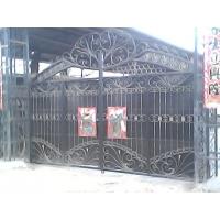 北京良乡别墅铁艺门 铁艺大门安装13716030505