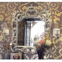精艺丽家厂家直销 欧式新古典风格浴室镜 装饰镜 银箔镜