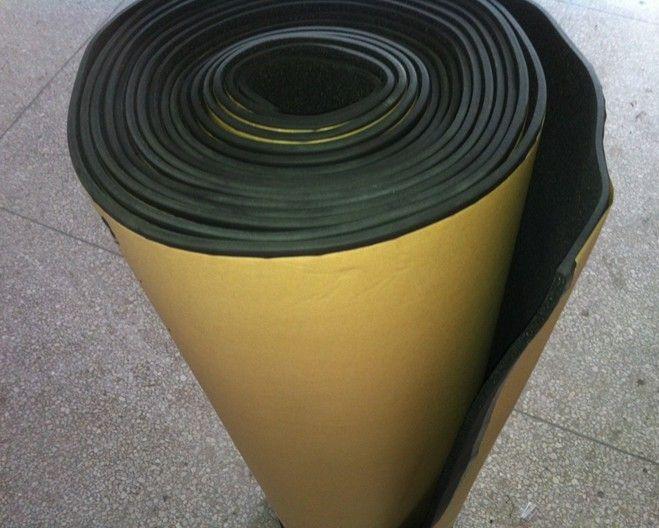 供应橡塑板贴纸 贴纸橡塑板 粘胶橡塑板 不干胶橡塑板