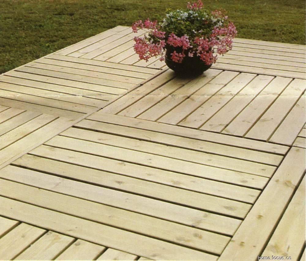 室外防腐木地板做法_防腐木地板园林景观地板、户外木平台、露台