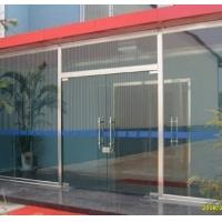 和平区安装玻璃门 定做安装钢化玻璃门