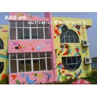 长沙幼儿园彩绘,长沙幼儿园壁画,长沙幼儿园墙绘