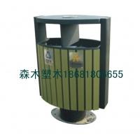 江西园林椅、江西公园椅垃圾桶塑木地板、花箱花盆树池