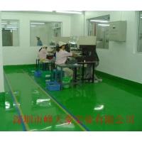 龙岗防静电地板厂(自流平型 滚涂式 PVC)