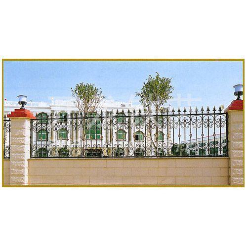 围墙铁门设计图