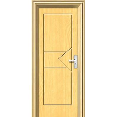雅豪室内钢木门-木纹转印门
