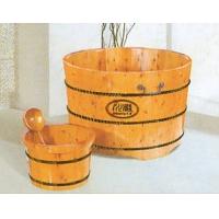 川浴木桶-圆桶