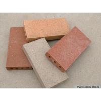 陶土砖、烧结砖、劈开砖、透水砖