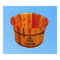 永佳木桶-单边带耳浴足盆