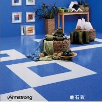阿姆斯壮地板磨石彩 畅销塑胶地板防滑地砖