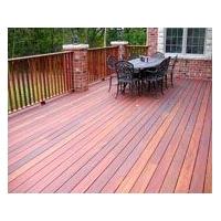 户外木材优质品牌居野菠萝格地板安装、菠萝格花架