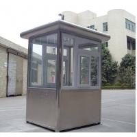 不锈钢警务亭-不锈钢小区亭-不锈钢站岗亭