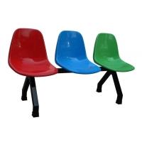 汽车站靠背椅-公共场所靠背椅-靠背长排椅子
