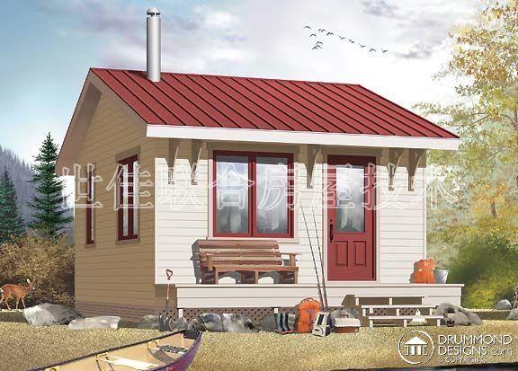 w1903美式经济型轻钢别墅房屋