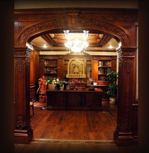 家具。公司有专业的设计师团队,可以免费为业主提供专业的原木整装设计。产品包括木门,客厅家具,卧室家具,书房家具,橱柜,浴室柜,墙板,天花,楼梯,地板,酒窖等所有木制产品。木材种类的,款式颜色可任选。选择豪利整体家装,为你打造高端舒适的家。