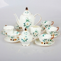 陶瓷咖啡具定做 礼品陶瓷咖啡具