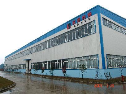 锡昌钢结构工程 蓝图铝业钢结构厂房