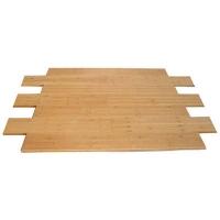 成都康丽竹地板-碳化耐磨散节竹地板