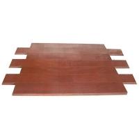 成都康丽竹地板-碳化咖啡色竹地板