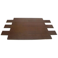 成都康丽竹地板-碳化耐磨绿茶色竹地板