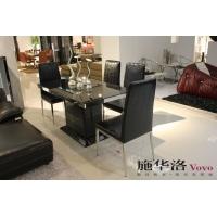 黑色钢化玻璃餐桌,2013爆款销售
