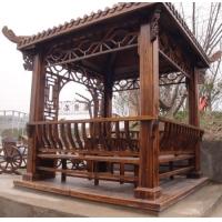 南京防腐木-南京富朗园林景观-凉亭11