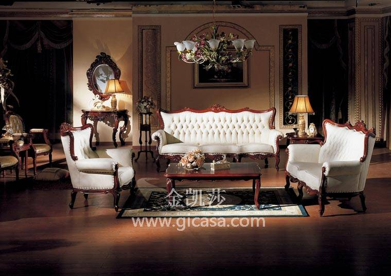 高档欧式古典家具 欧式实木家具 欧式家具品牌 金凯莎