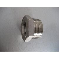 螺纹式不锈钢工业管件:六角卜申(补芯)