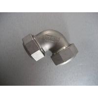 紧凸式不锈钢紧缩管件:等径弯头