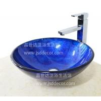 深圳卫浴 洗手盆洗脸盆艺术盆台上盆玻璃盆