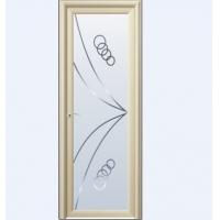 成都平弧系列香槟镜艺玻璃vp-733