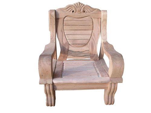 沙发椅正面手绘图