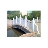 公园石桥 汉白玉小石桥石雕栏杆护栏厂家批发