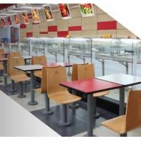 杭州曲木肯德基快餐桌-杭州吧凳批发-杭州非常食客桌椅