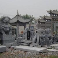 运全石材-石雕-庙