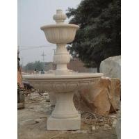 合肥市石材雕刻厂黄锈石喷泉