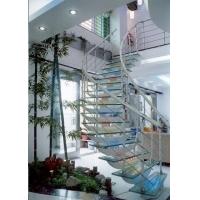 仿生态感应灯钢玻楼梯