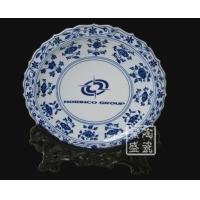 供应8寸挂盘 纪念盘 景德镇陶瓷赏盘
