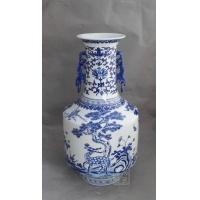 青花瓷花瓶 陶瓷礼品 定做陶瓷摆设 青花瓷双耳瓶