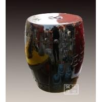 供应陶瓷凳子 陶瓷凉墩家具 单色釉瓷凳定做