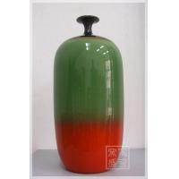 供应红瓷瓶摆件 颜色釉花瓶
