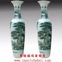 景德镇大花瓶,开业礼品陶瓷大花瓶