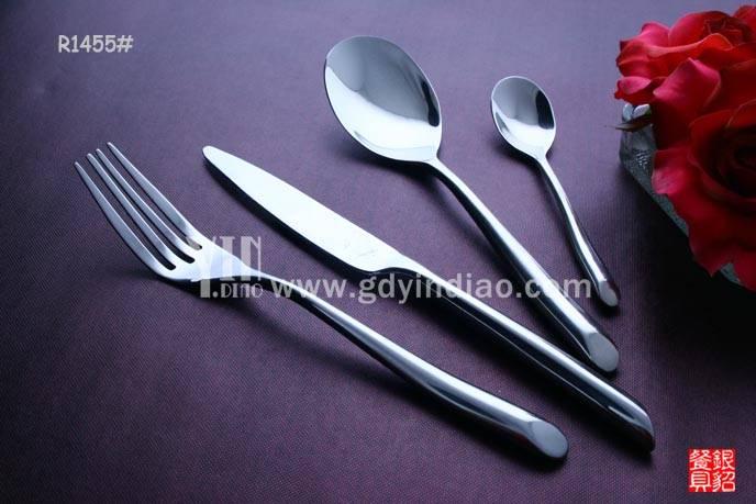 出口法国精品高级不锈钢刀叉勺西餐餐具套装 五金系列刀叉勺