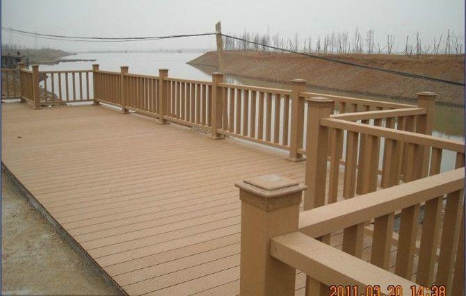 pe户外防水木塑地板