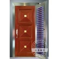 钢木装甲门招商商机图|豪华装甲门|子母钢木装甲门广东品牌